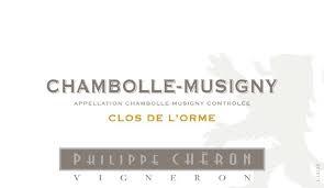 Philippe Cheron Chambolle Musigny Clos de L'Orme 2014