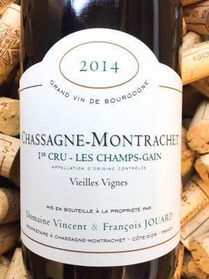 V&F Jouard Chassagne Montrachet 1er Cru Les Champs Gain 2014