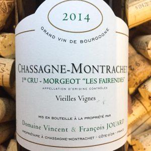 V&F Jouard Chassagne Montrachet 1er Cru Morgeot 2014