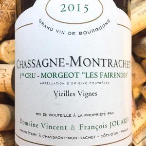 V&F Jouard Chassagne Montrachet 1er Cru Morgeot 2015