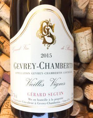 Gerard Seguin Gevrey Chambertin Vieilles Vignes 2015