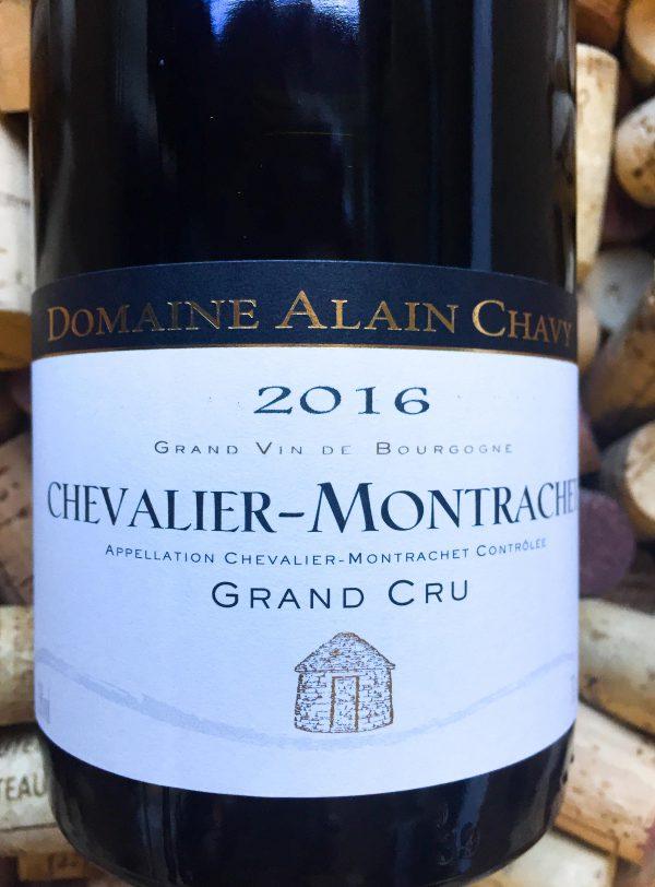 Alain Chavy Grand Cru Chevalier Montrachet 2016