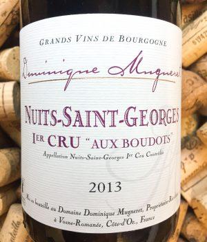Dominique Mugneret Nuits Saint Georges Premier Cru Boudots 2013