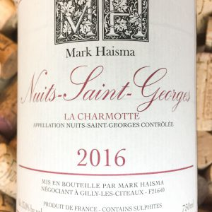 Mark Haisma Nuits Saint Georges 2016