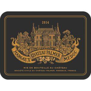 Chateau Palmer Margaux 3e Grand Cru Classe 2014