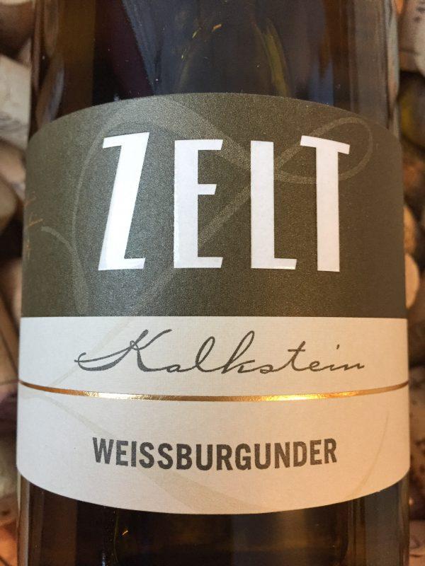 Ernst & Mario Zelt Weissburgunder Kalkstein Pfalz 2018