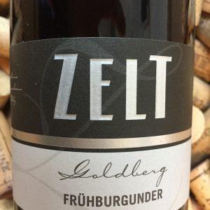 Ernst & Mario Zelt Frühburgunder Goldberg Pfalz 2015