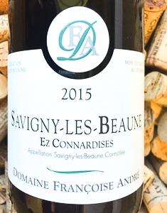 Francoise Andre Savigny Les Beaune Rouge EzConnardises 2015