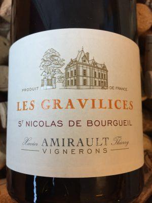 Clos des Quarterons Saint Nicolas de Bourgueil Les Gravilices 2015