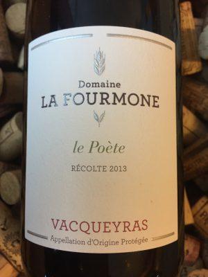 Domaine La Fourmone Vacqueyras Le Poete 2018