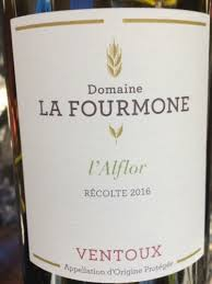 Domaine La Fourmone Ventoux Rouge L'Afflor 2016
