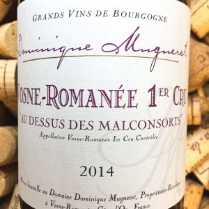 Dominique Mugneret Vosne Romanee 1er Cru Malconcorts 2014