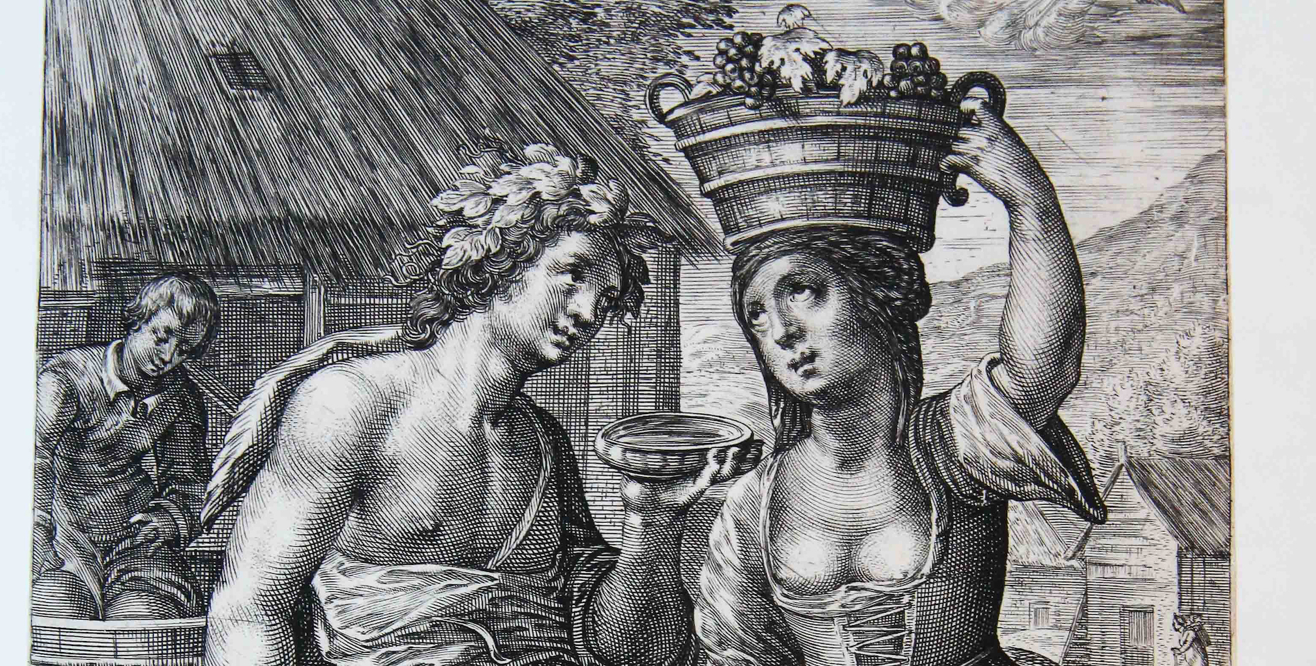 Wijn op hoofd