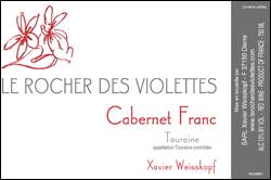 Le Rocher des Violettes Cabernet Franc Touraine 2010