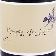 Domaine de Marcoux Raisin de loup rouge Vin de France