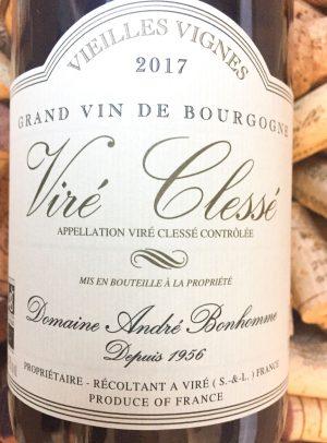 Andre Bonhomme Vire Clesse Vieilles Vignes 2018