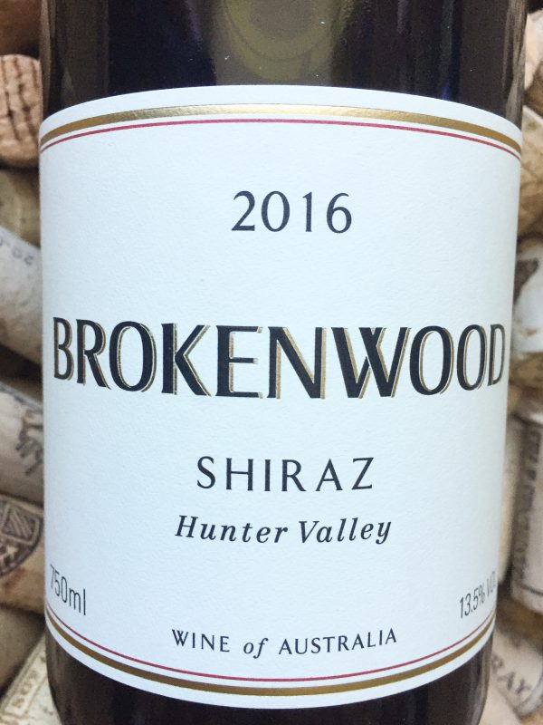 Brokenwood Shiraz Hunter Valley 2013