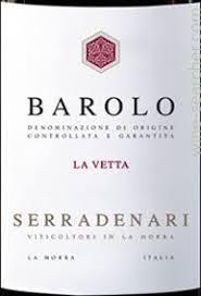 Serradenari Barolo La Vetta 2013