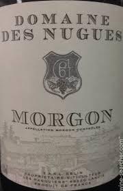 Domaine des Nugues Morgon 2015
