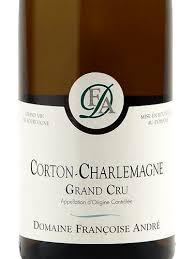 Francoise Andre Corton Charlemagne Grand Cru 2014