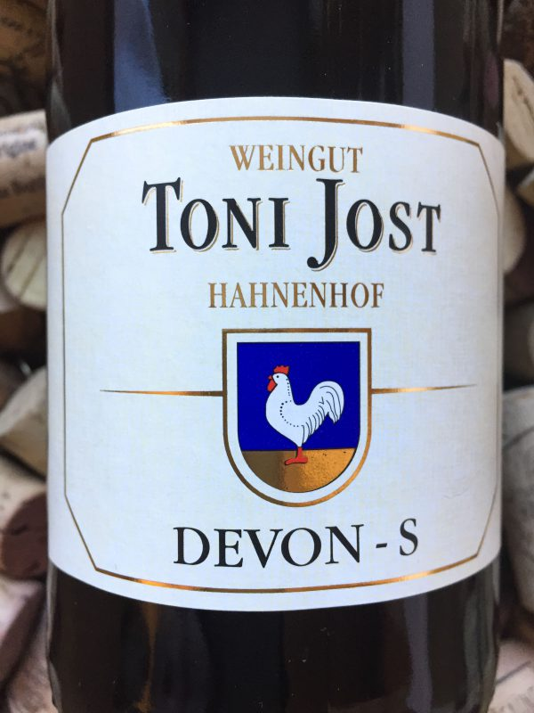 Toni Jost Devon S Riesling Trocken Mittelrhein 2008