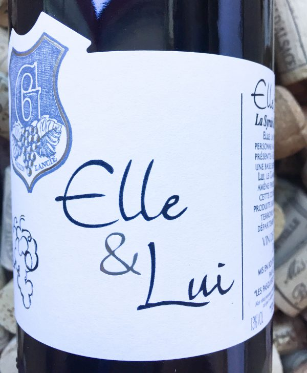 Domaine des Nugues Elle & Lui Vin de France 2015