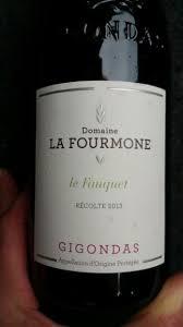 Domaine La Fourmone Gigondas Le Fauquet 2013