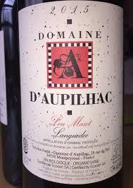 Domaine Aupilhac Languedoc Lou Maset 2015