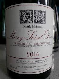 Mark Haisma Morey Saint Denis Premier Cru Les Chaffots 2016