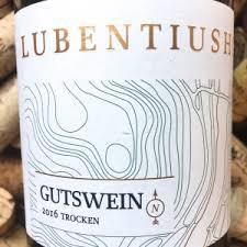Lubentiushof Gutswein Riesling trocken Mosel 2015