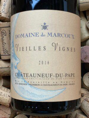 Domaine de Marcoux Chateauneuf du Pape Vieilles Vignes 2016
