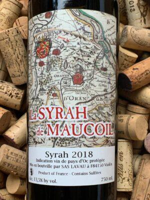 Syrah de Maucoil Pays d'Oc 2018