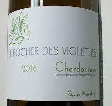 Le Rocher des Violettes Chardonnay IGP Val de Loire 2016