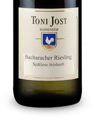 Toni Jost Bacharacher Riesling Spätlese Mittelrhein 2015