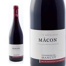 Les Vignerons de Mancey Macon Mancey Rouge 2015