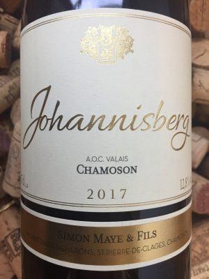Simon Maye Johannisberg Chamoson Valais 2017