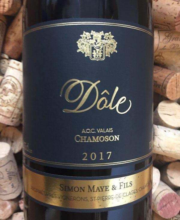 Simon Maye Dole Chamoson Valais 2017