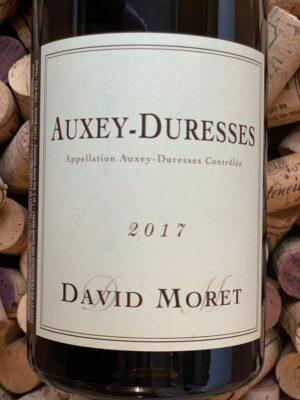 David Moret Auxey Duresses Blanc 2017