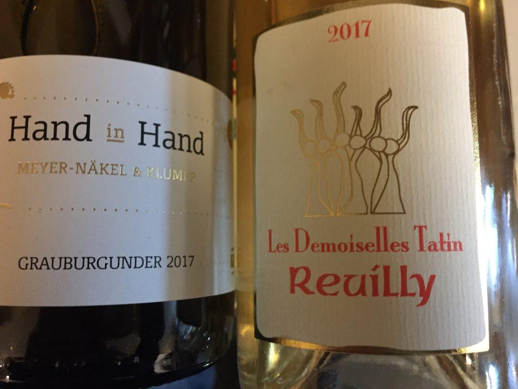 One grape: Pinot gris - Grauburgunder Reuilly & Baden