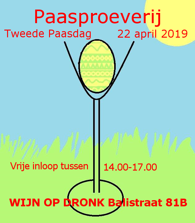 Paasproeverij 22 april 2019