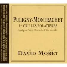 David Moret Puligny Montrachet 1er Cru Les Folatieres 2017