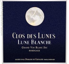 Clos des Lunes Lune d'Argent Bordeaux blanc sec 2017