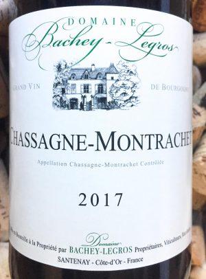 Domaine Bachey-Legros Chassagne Montrachet 2017