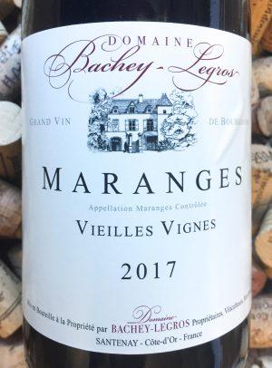 Domaine Bachey Legros Maranges Vieilles Vignes 2017