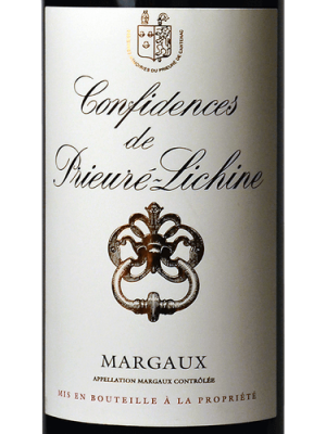 Prieure Lichine Confidences Margaux 2015