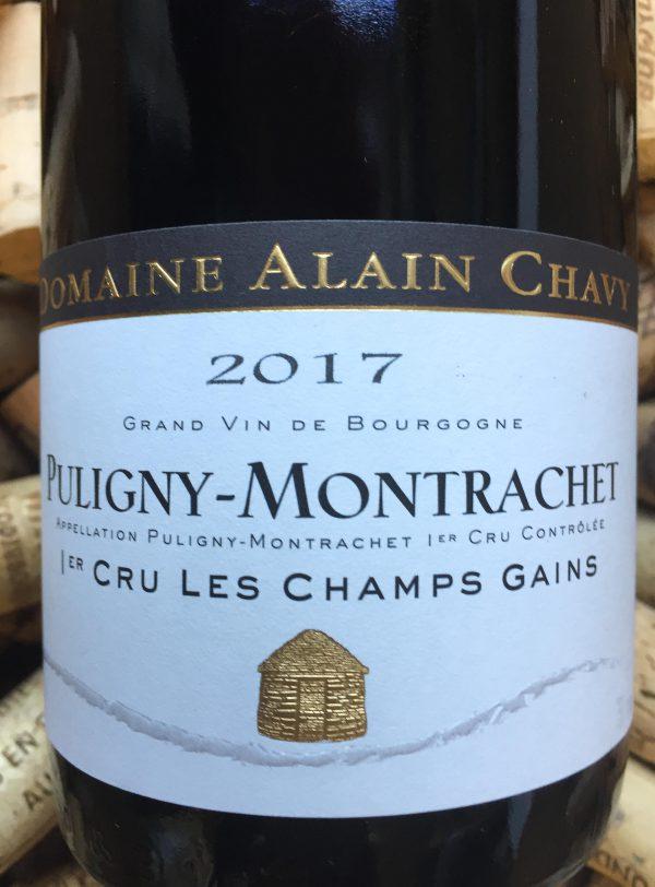 Alain Chavy Puligny Montrachet Les Champs Gain 2017