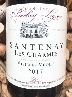Bachey-Legros Santenay rouge Les Charmes Vieilles Vignes 2017