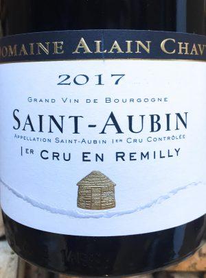 Alain Chavy Saint Aubin Premier Cru En Remily 2017