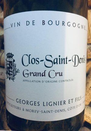 Georges Lignier Clos Saint Denis Grand Cru 2015
