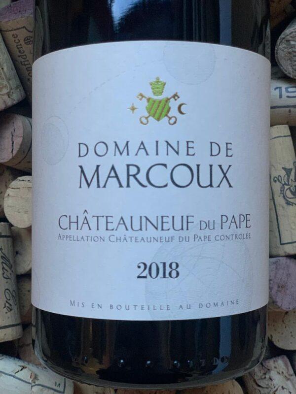 Domaine de Marcoux Chateauneuf du Pape Blanc 2018